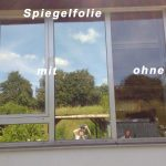 Beispiel Spiegelfolie
